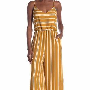 LUSH striped Jumpsuit